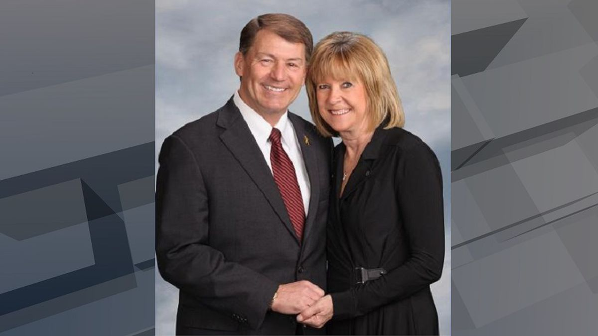 Sen. Mike Rounds and his wife Jean