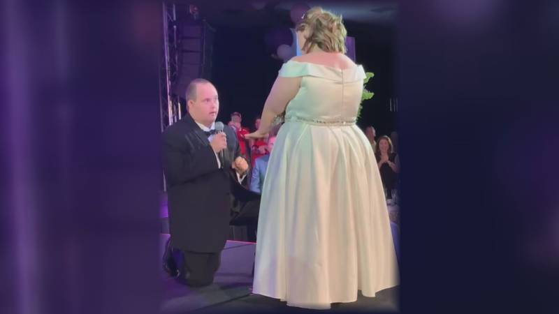Kelsi Dungan and Derek Medjesky both have Down syndrome and have become the faces of the Dream...
