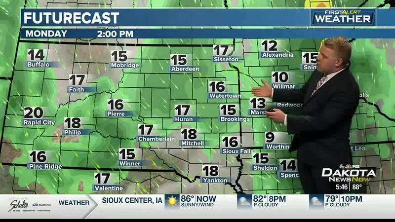 Sunday Evening Forecast with Meteorologist Austin Haskins