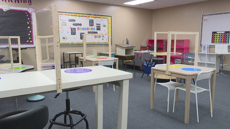 Teachers at schools like John Harris Elementary in Sioux Falls are already working on arranging...