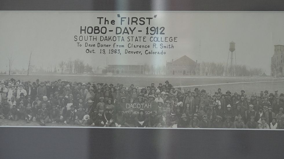 The first Hobo Day parade started in 1912