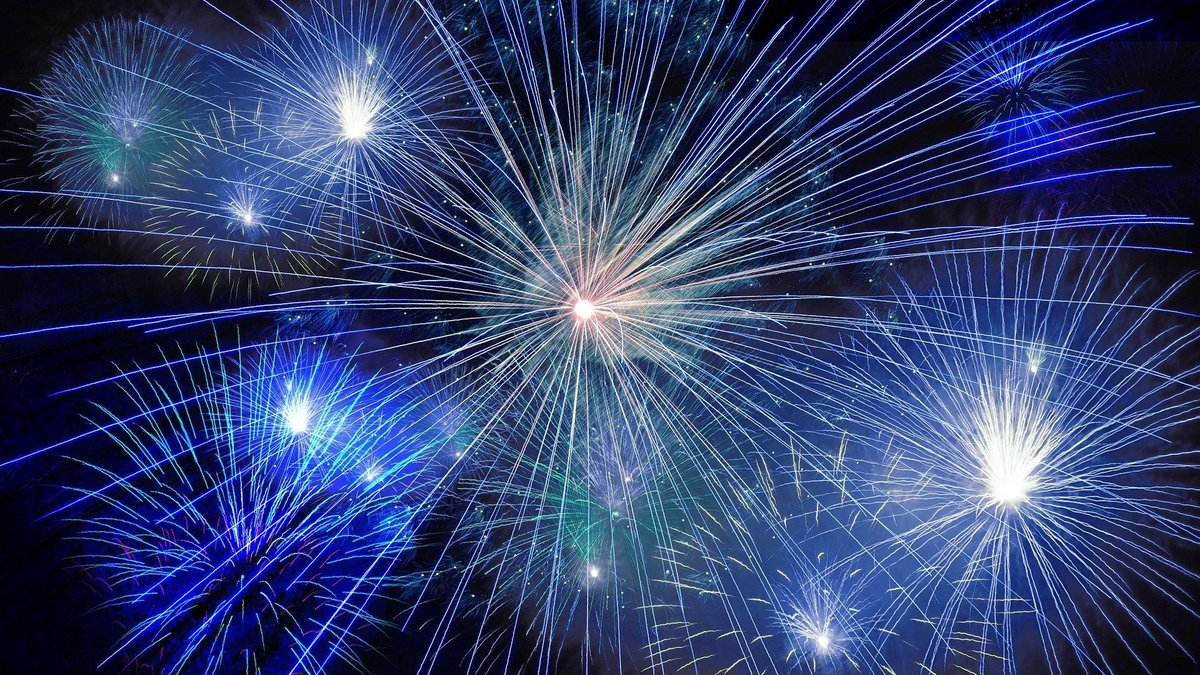 Fireworks (source: Pixabay)