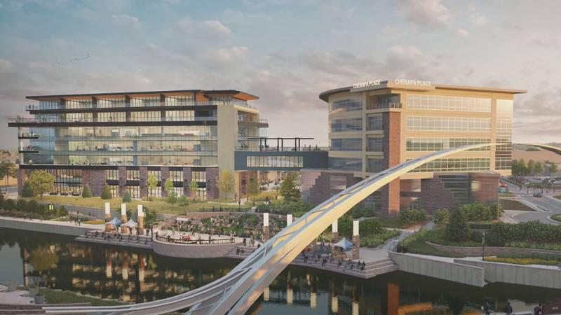 The project price tag is 160 million dollars.  Developer Pendar Associates representatives are...