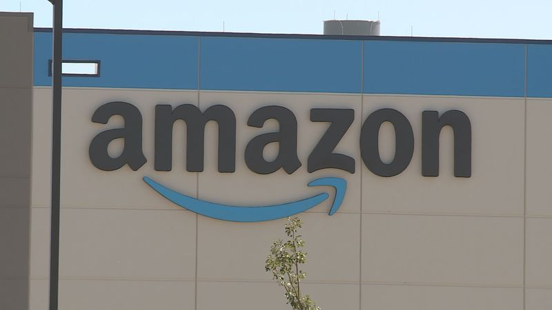 File photo of Amazon facility in Beloit, Wis.