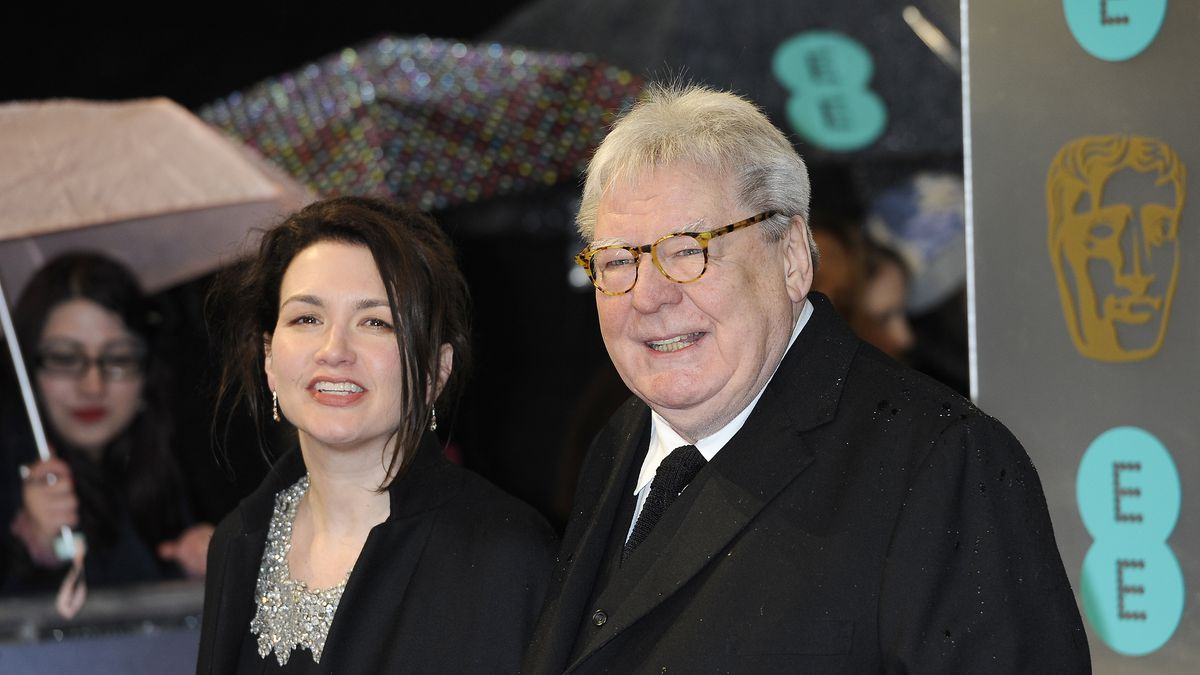 """Lisa Parker, left, and director Alan Parker arrive for the BAFTA Film Awards at the Royal Opera House on Sunday, Feb. 10, 2013, in London. A Briton who became a Hollywood heavyweight, Parker also directed """"Fame,"""" """"The Commitments and """"Mississippi Burning."""" Together his movies won 10 Academy Awards and 19 British Academy Film Awards."""