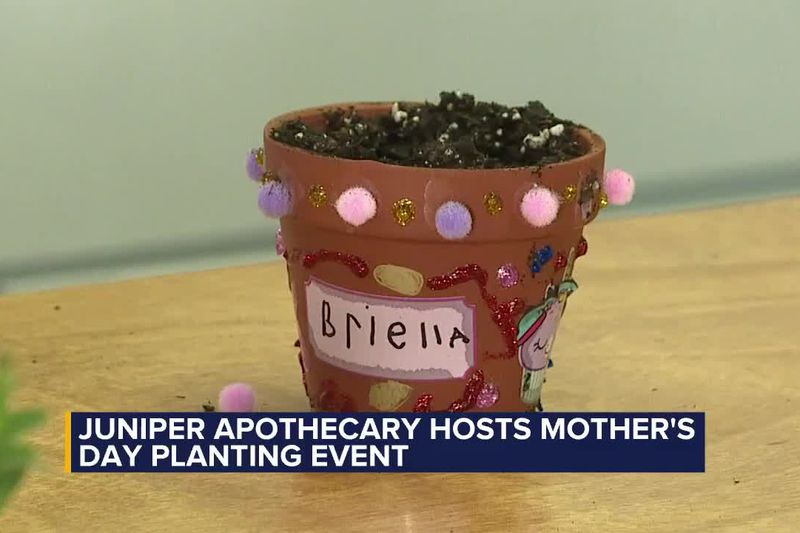 Juniper Apothecary hosts Mother's Day planting event