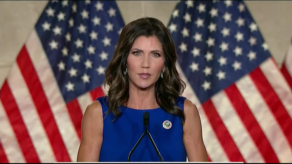 Gov. Kristi Noem (R, S.D.) speaks at the 2020 Republican National Convention (file photo)