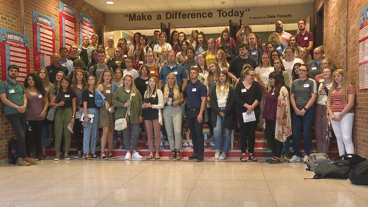 The Sioux Falls Public Schools Education Foundation award 80 grants to first-time teachers...
