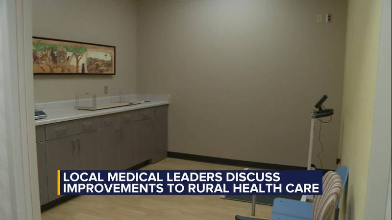 Local medical leaders discuss improvements to rural health care