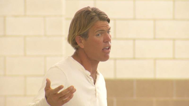 Former Olympic swimmer advocates for diabetes research with Sanford
