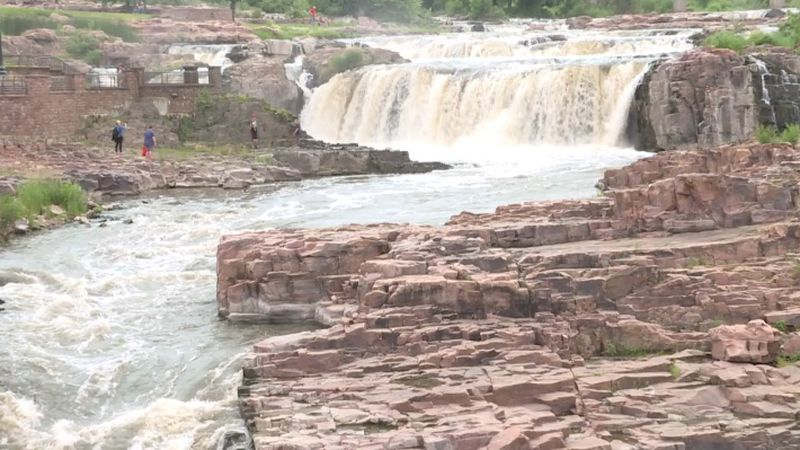 New plans to redesign Falls park are now being reviewed by the Sioux Falls parks and recreation...