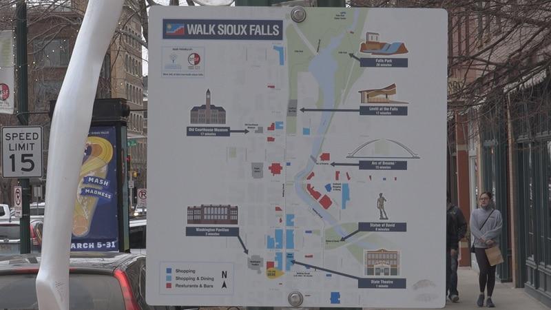 Walk Sioux Falls Map