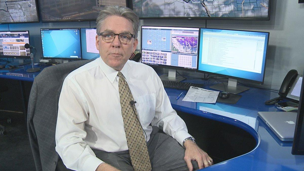 Dakota News Now Meteorologist Phil Schreck