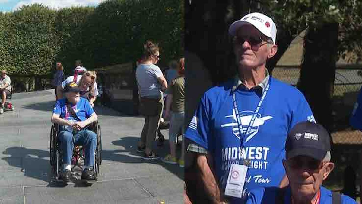Earle Widmer and Jim Allison visited the war memorials in Washington, D.C. and Northern...