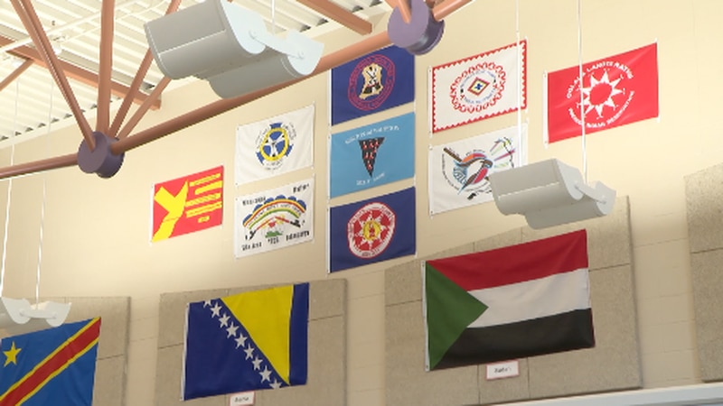 Many schools form their own traditions. At Rosa Parks Elementary in Sioux Falls, they have a...