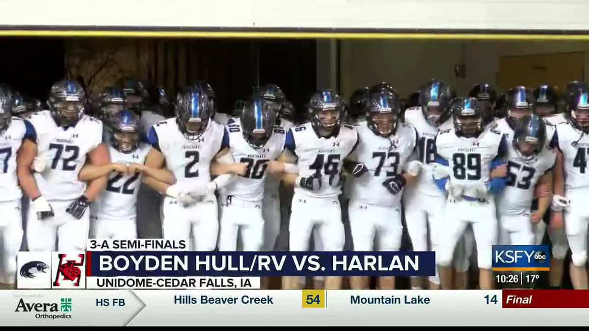 Boyden Hull/RV's season ends in 3-A semi-finals to Harlan