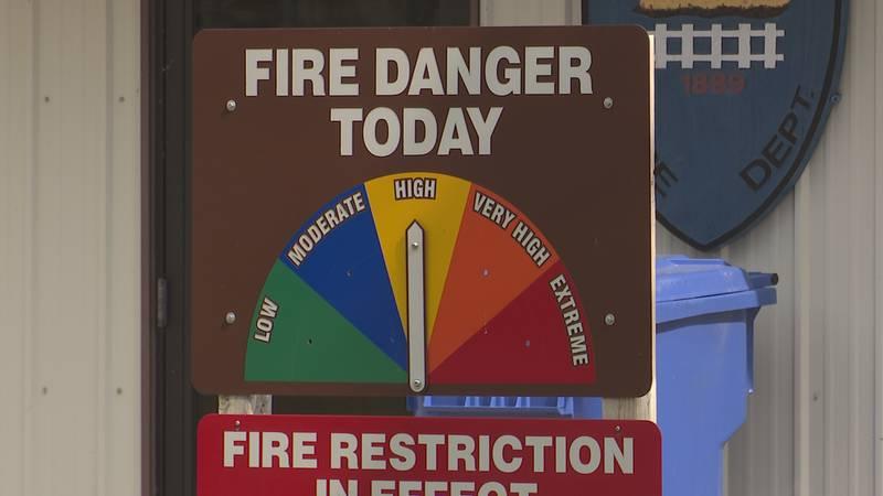 Northeastern South Dakota officials warn of increasing fire danger