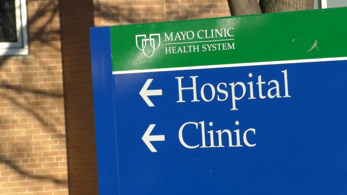 A Mayo Clinic Health System directory is pictured Thursday, July 1, 2021, in Mankato, Minn.