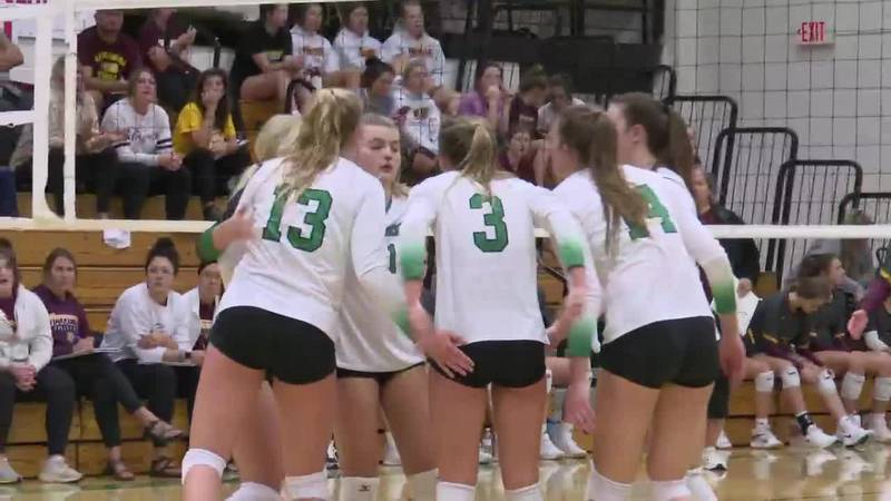 """Pierre rallies to beat Harrisburg in battle of ranked teams in """"AA"""" volleyball"""