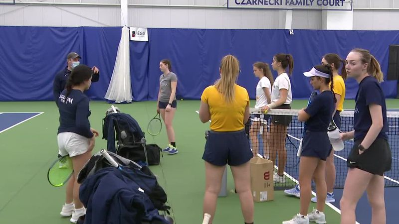 Augie women's tennis team has international roster