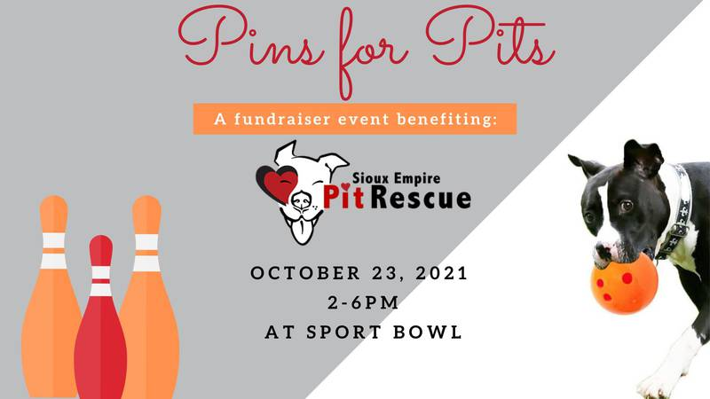 """""""Pins for Pits"""" taking place Saturday benefitting Sioux Empire Pit Rescue"""