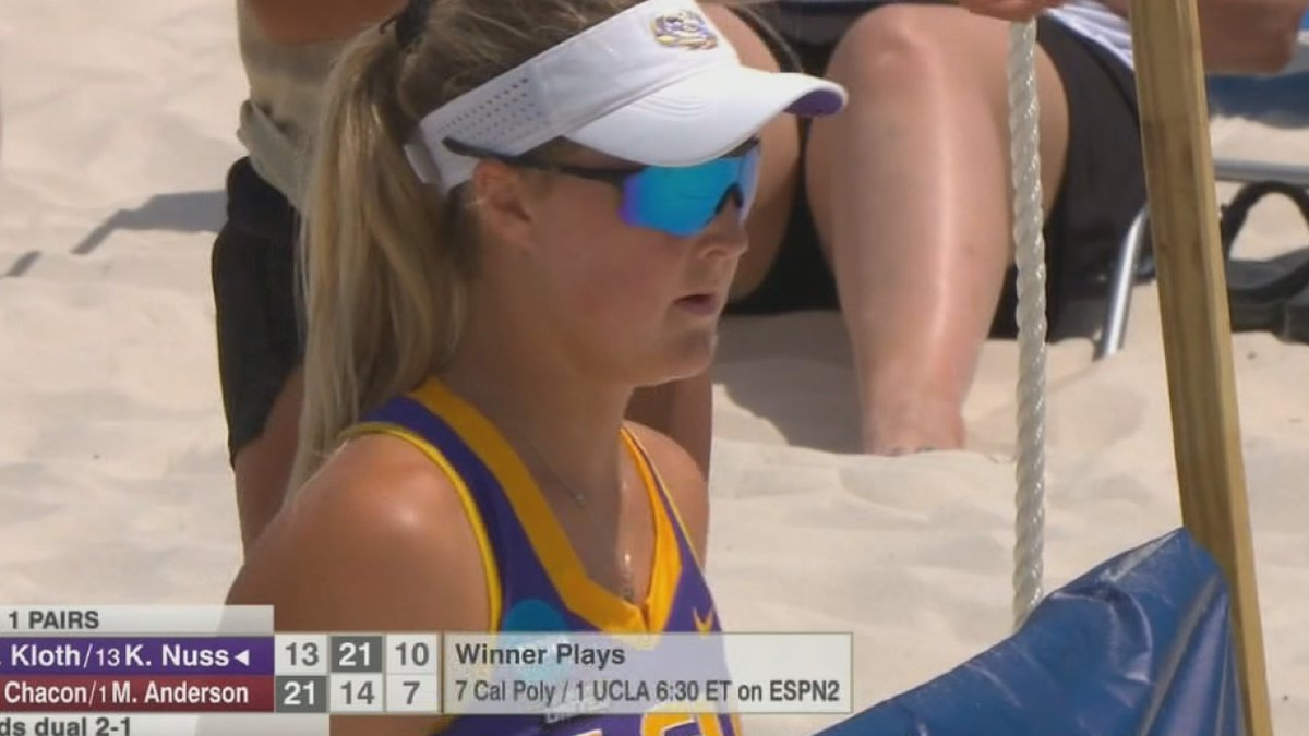 Played in NCAA Beach Volleyball Tournament for LSU