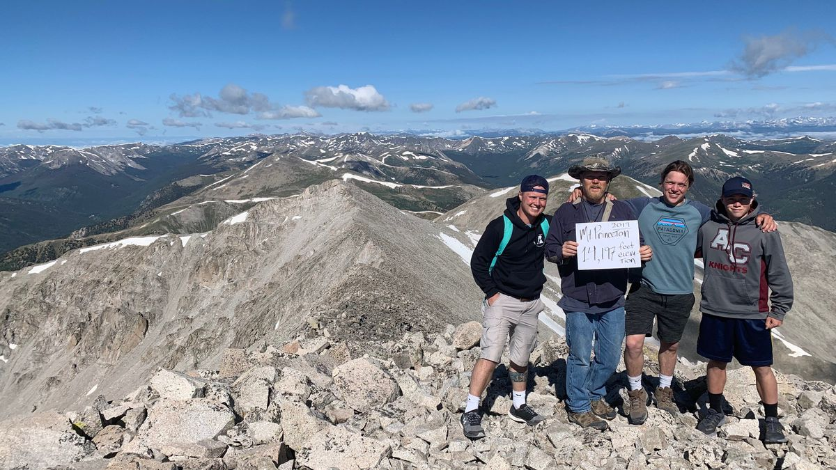 Jeff Kretchman recovered from a heart attack and hiked to the peak of Mt. Princeton
