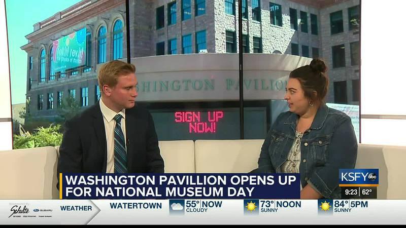 Washington Pavilion offers free admission