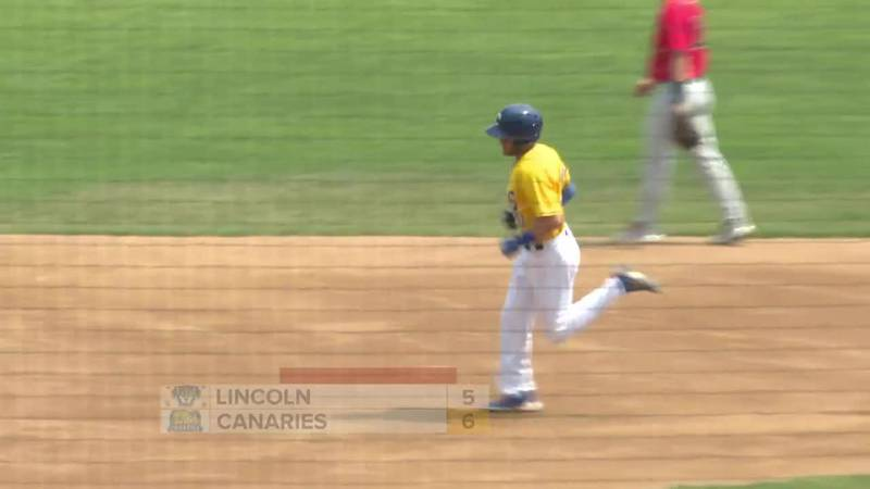 Homers for Canaries in 6-5 win over Lincoln