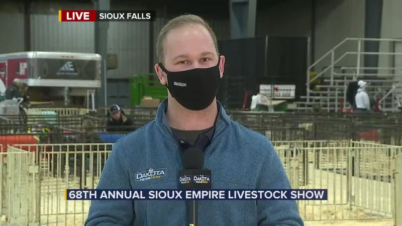 Sioux Empire Livestock Show - 6:30 am segment