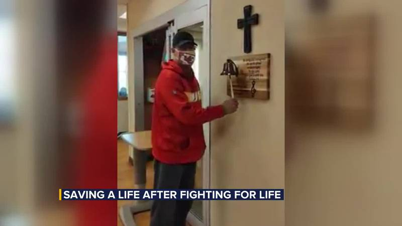 Taco John's worker saves a life after fighting for his own