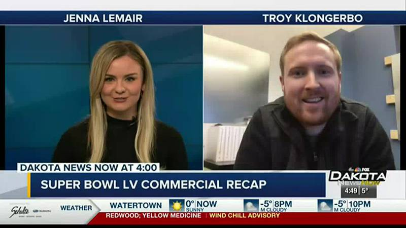 Local marketing agency talks about Super Bowl Sunday ads.