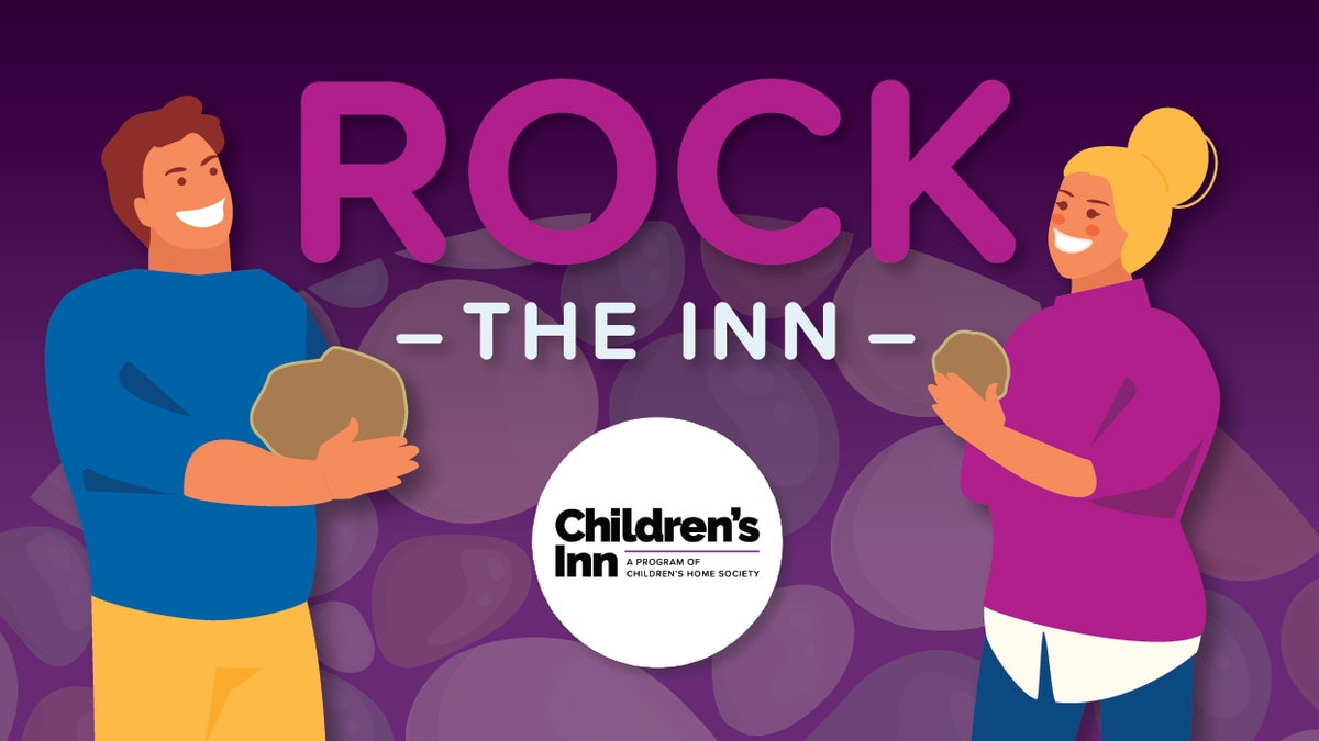 """Volunteer step up to help Children's Inn with their """"Rock the Inn"""" event"""