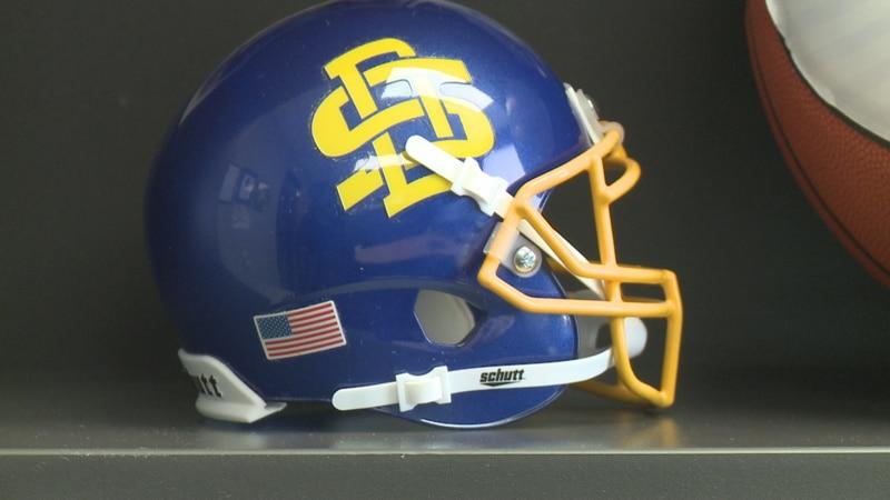 SDSU helmet