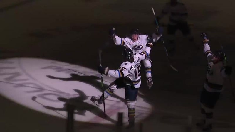 Stampede win overtime thriller over Sioux City