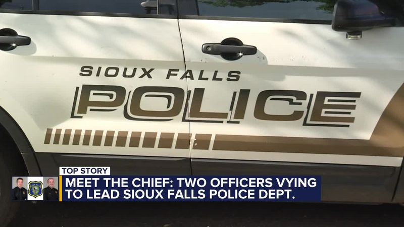 Two candidates are vying to become Sioux Falls' next police chief