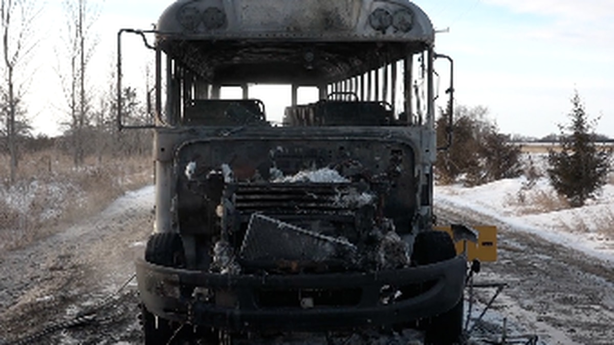 Driver who saved kids from burning bus speaks out