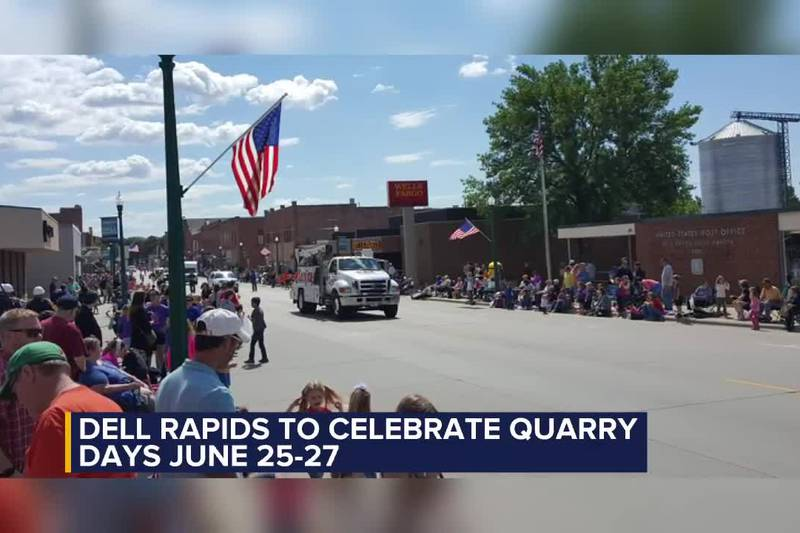 Dell Rapids to celebrate Quarry Days June 25-27