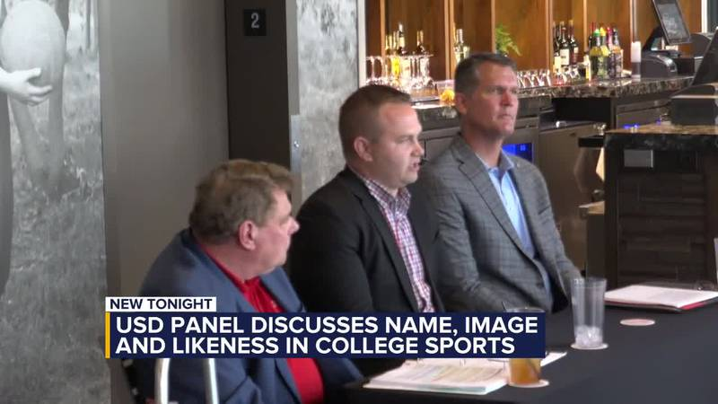 University of South Dakota host panel discussion on NCAA name, image, and likeness policy