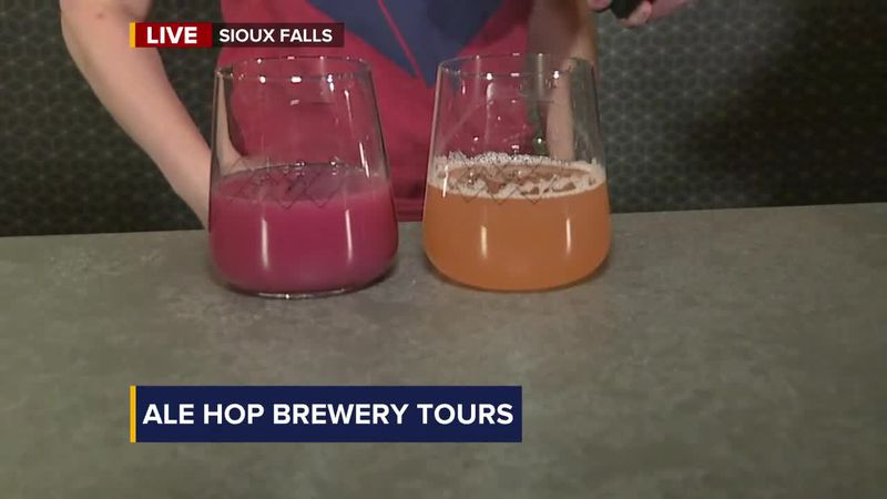 Tour guests are taken in a customized van to any of the breweries across Sioux Falls.