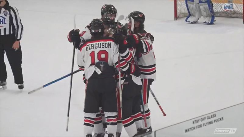Wings defeat Minnesota 5-1 in first game of the best-of-three Robertson Cup Semifinals