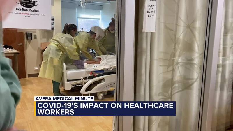 Avera Medical Minute: COVID-19′s impact on healthcare workers