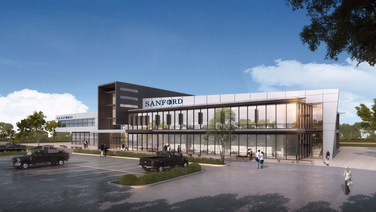 Sanford Health says the $350 million gift will support a clinical initiative to create virtual...