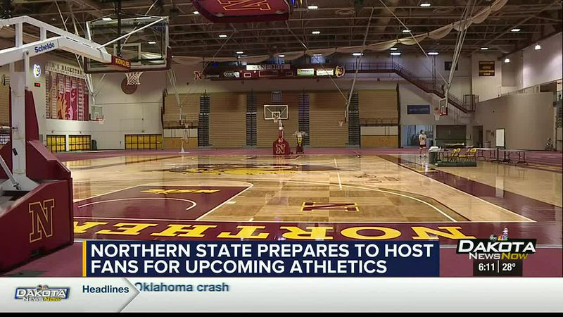 Northern State had outlined it's attendance policy for fans ahead of it's first athletic events...