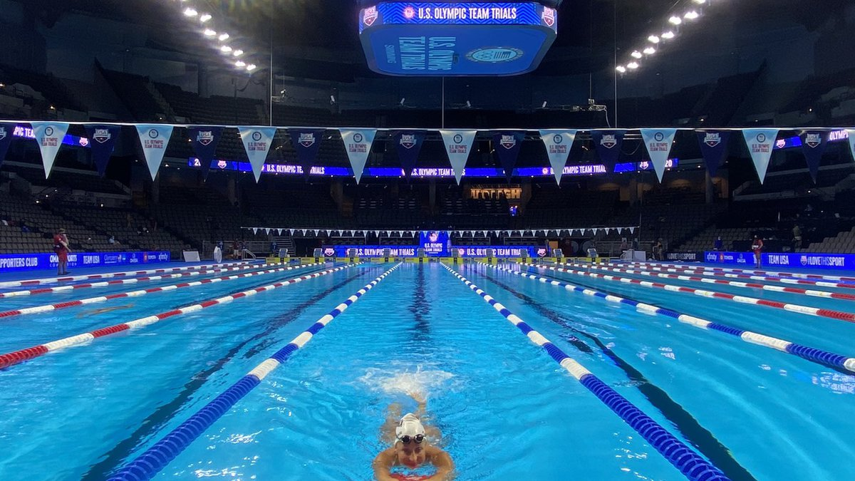Aberdeen native & Northern State alum Hannah Kastigar finishes 11th in 400 IM at US Olympic...