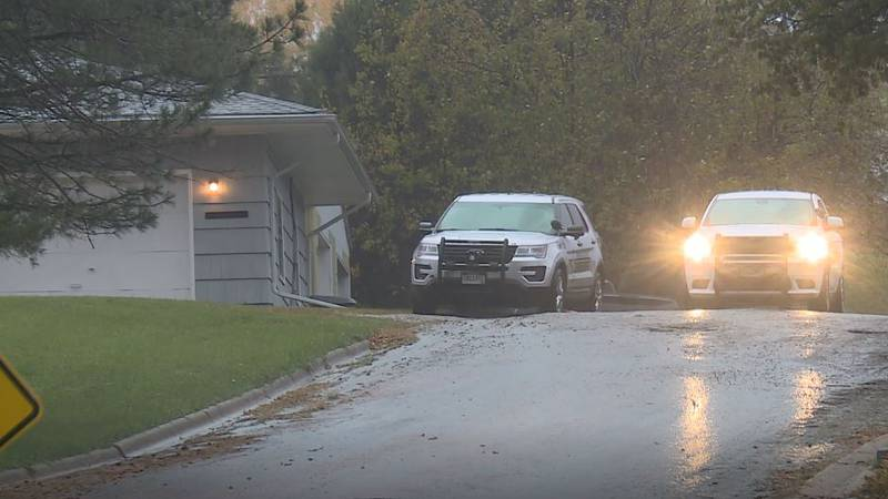 Jerauld County Sheriff's office investigating crime scene following alleged stand-off.