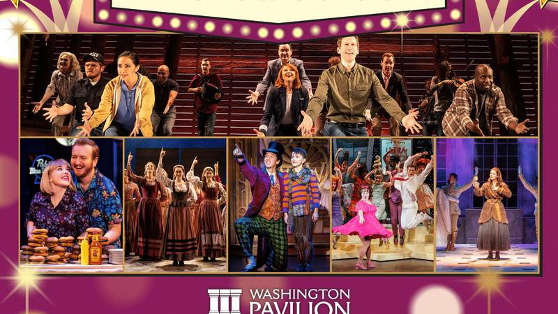 Broadway shows to return to Washington Pavilion after one year break due to Covid