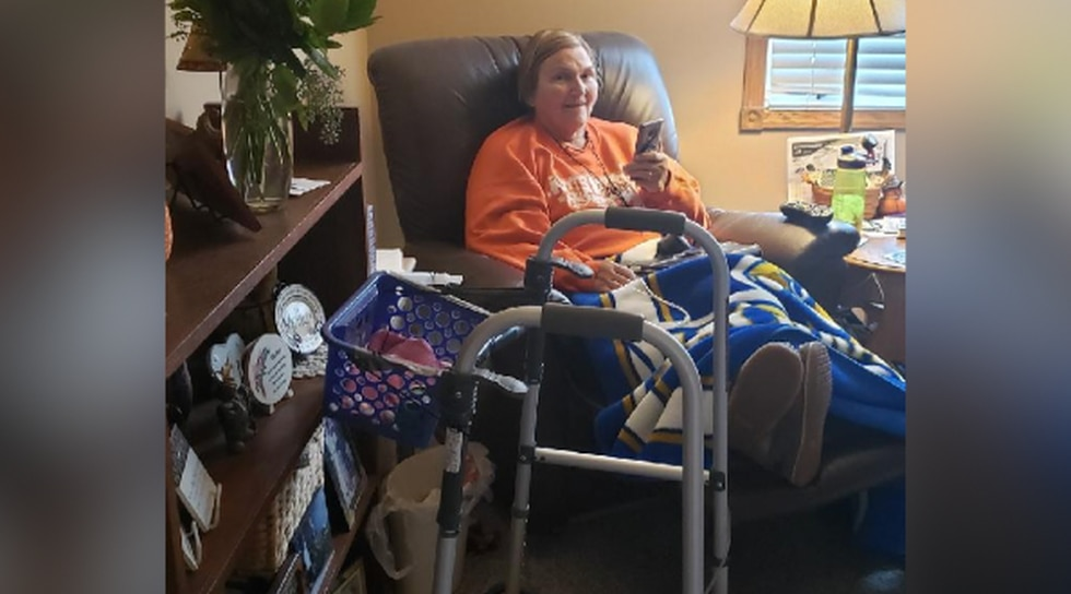 """This was just me and my walker and my recliner where I spent a lot of time,"" said Karolczak."