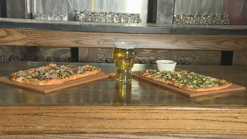 A bar in Sioux Falls is putting a unique twist on their pizzas. At Monk's Ale House you can...