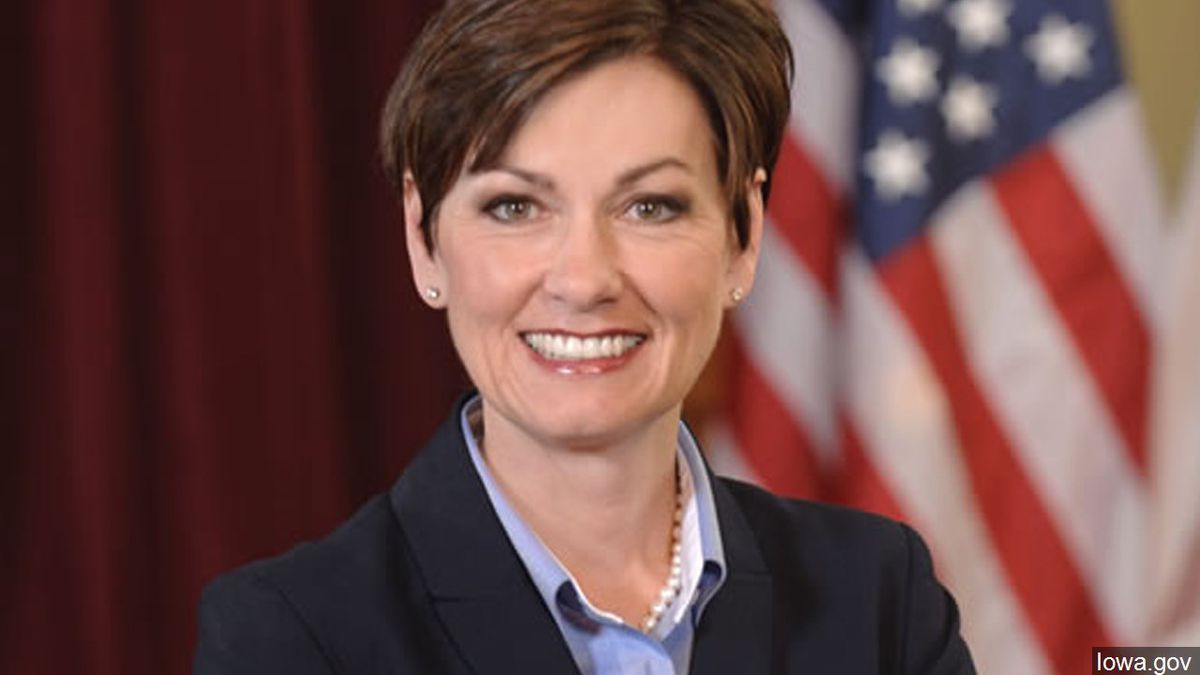 Iowa Gov. Kim Reynolds (Courtesy of the Office of the Governor of Iowa)